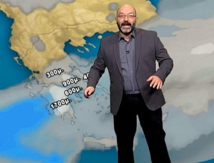 Σάκης Αρναούτογλου: Έρχεται νέα επιδείνωση του καιρού! Το έκτακτο δελτίο...