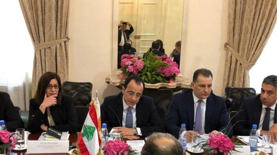 Κύπρος και Λίβανος συμφώνησαν διαπραγματεύσεις για οριοθέτηση ΑΟΖ στη μέση γραμμή