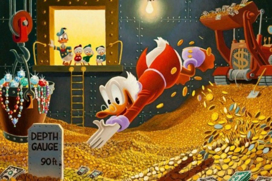 Πόσα λεφτά έχει ο Σκρουτζ Μακ Ντακ με σημερινά δεδομένα;