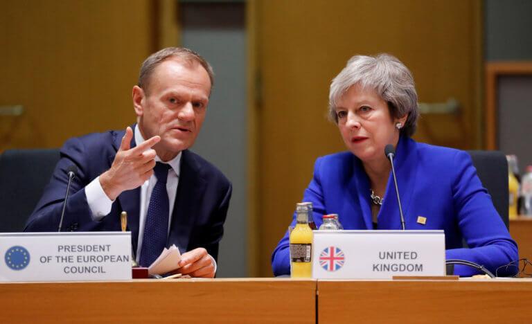 Brexit: Παράταση έως τις 30 Ιουνίου ζήτησε η Τερέζα Μέι