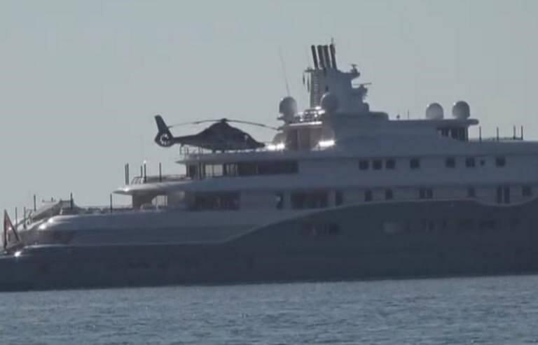 Μύκονος: Η θαλαμηγός του εμίρη έκρυψε μέρος του ορίζοντα – Στα 280.000.000 ευρώ η αξίας της – video
