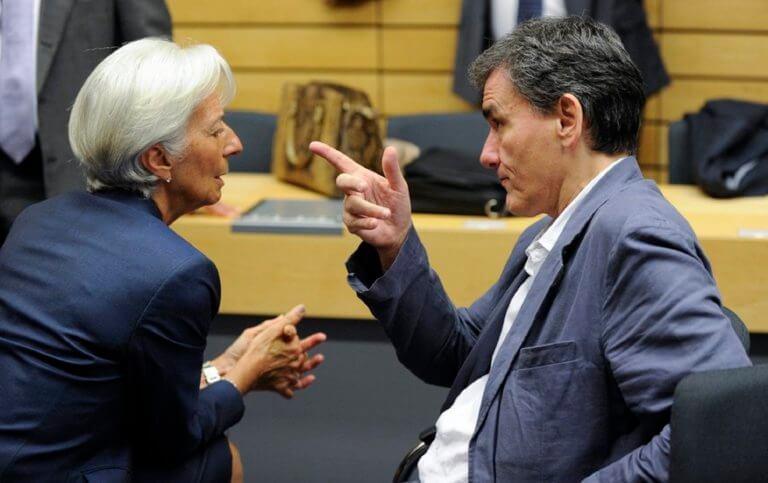 Δίκαιο το αίτημα για πρόωρη αποπληρωμή των δανείων παραδέχεται το ΔΝΤ – Τι συζήτησαν Τσακαλώτος με Λαγκάρντ και Τόμσεν