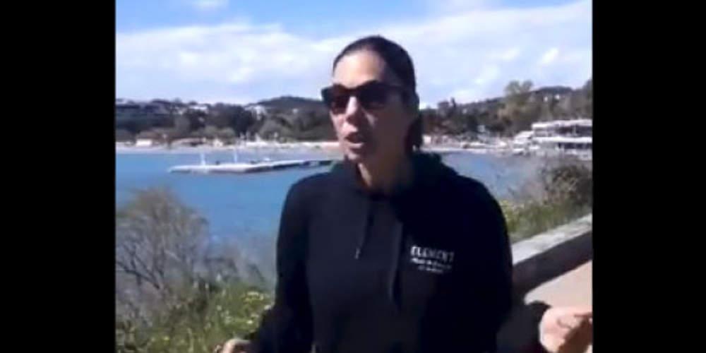 Απίστευτο βίντεο: Η Εύη Βατίδου αποθέωσε τον Νίκο Παππά για την ελληνική διαστημική αποστολή [βίντεο]