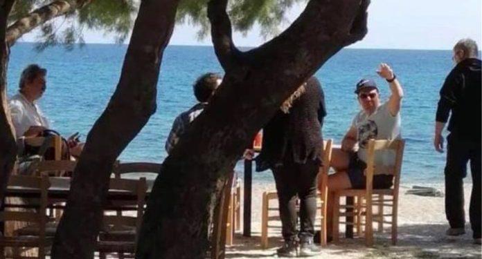 Ρέθυμνο: Τσίπρας και Πολάκης έφαγαν μαζί σε ταβέρνα | ΦΩΤΟ