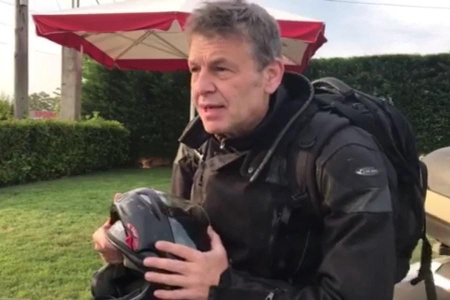 Ο Απόστολος Γκλέτσος ως easy rider ξεκίνησε τον προεκλογικό του αγώνα στη Στερεά Ελλάδα (video)