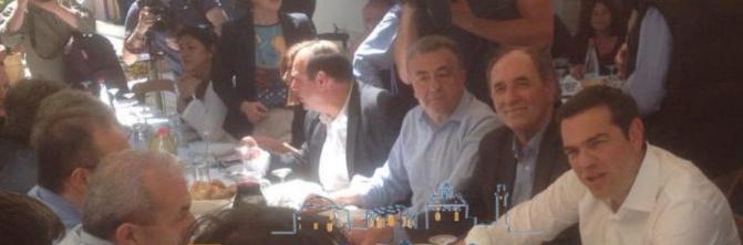 Κρήτη: φωτογραφίες από την επίσκεψη του Αλέξη Τσίπρα στις Αρχάνες