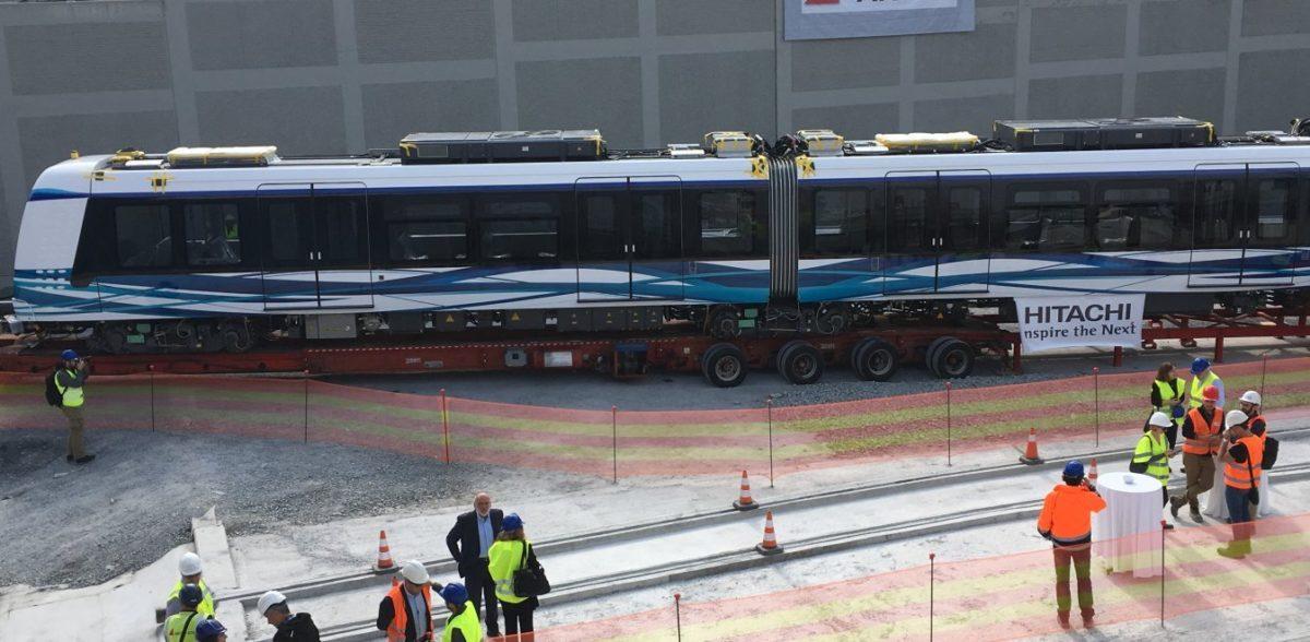 H πρώτη ταχεία του Μετρό Θεσσαλονίκης (pics+vid)