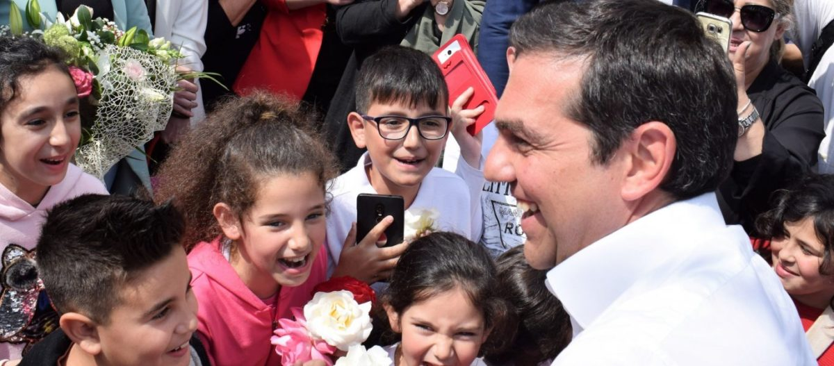 Α.Τσίπρας σε οικισμό Ρομά στην Ξάνθη: «Είστε παράδειγμα πολυπολιτισμικής συμβίωσης»!