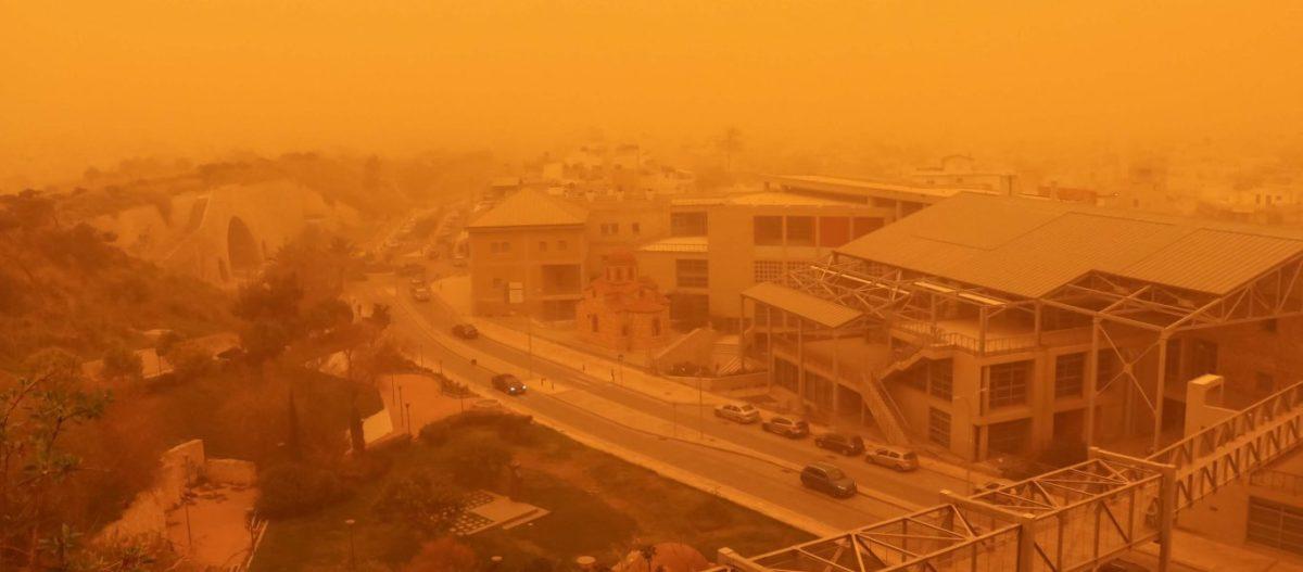 Καιρός: Θα μας «πνίξει» η αφρικανική σκόνη – Δείτε την πορεία της
