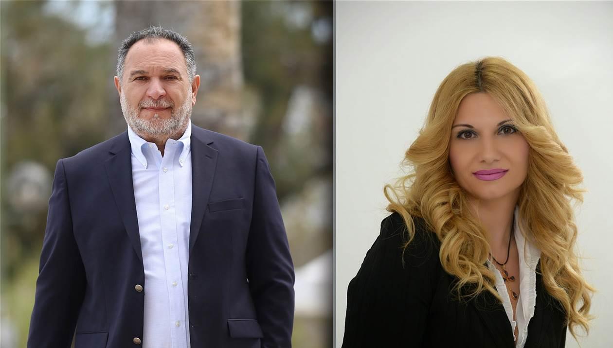 Η Αθηνά Σπανάκη στο πλευρό του Γιάννη Κουράκη – Η ανακοίνωση της υποψηφιότητας της
