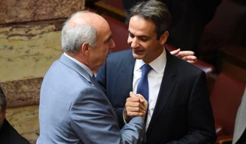 Μια αντιπροεδρία στο ΕΛΚ για τη ΝΔ εξασφάλισε ο Μεϊμαράκης