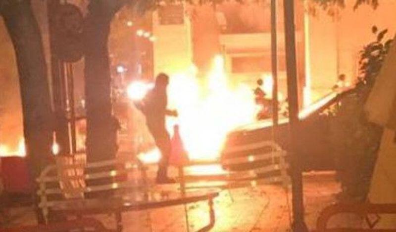 Θεσσαλονίκη: Μολότοφ στο αστυνομικό τμήμα Τούμπας