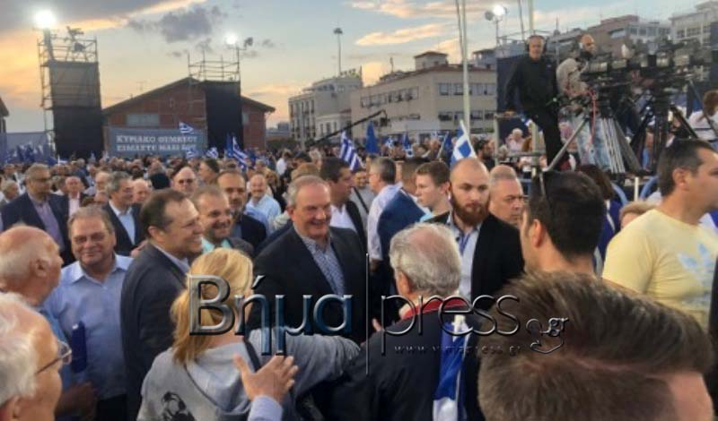 Θεσσαλονίκη: Στο λιμάνι σε λίγο η ομιλία του Κ. Μητσοτάκη- Οι πρώτες φώτο