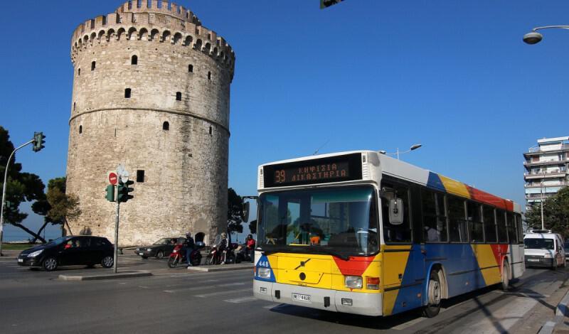Θεσσαλονίκη: Με προσωπικό ασφαλείας κινούνται τα λεωφορεία του ΟΑΣΘ