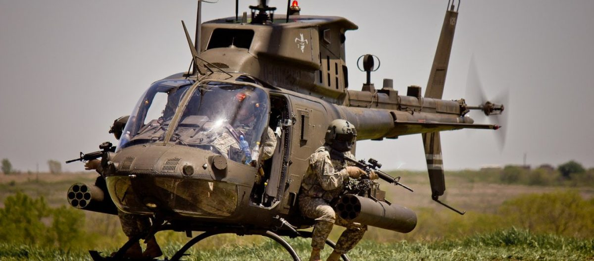 Μαζική αποστολή οπλικών συστημάτων από ΗΠΑ σε Ελλάδα για να «σταθεί όρθια αν»… : Kiowa Warrior, Chinook & κάτι άλλο