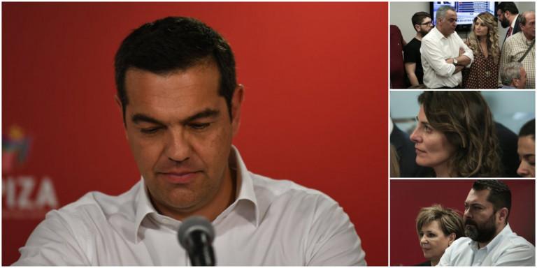 Τα δάκρυα της Κουμουνδούρου σε 20 φωτογραφίες -Πένθος για υπουργούς μετά την ήττα