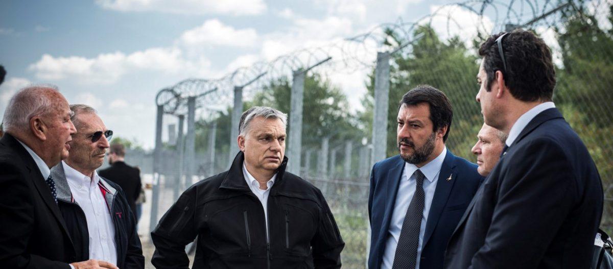 Μ.Σαλβίνι και Β.Ορμπάν μαζί στην «Συμμαχία των Εθνών»: «Ενωνόμαστε για να σώσουμε την Ευρώπη»! (φωτό)