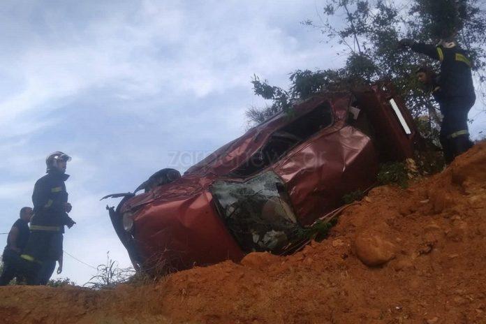 Θανατηφόρο τροχαίο στην Εθνική – Του έφυγε το αυτοκίνητο από την γέφυρα | Photos