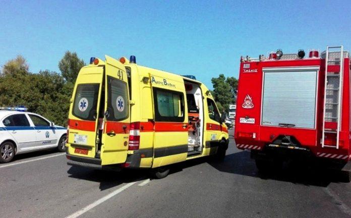 Χανιά | Τροχαίο με δύο μηχανές και τρεις τραυματίες στην Αγιά