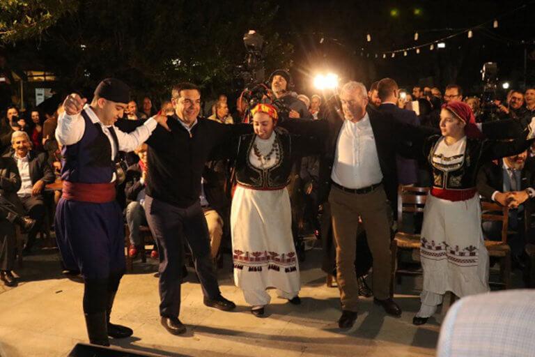 Κρήτη: Το' ριξε… στον σιγανό ο Τσίπρας στο Χουδέτσι – «Από κοντά» Σπίρτζης και Πολάκης [pics]