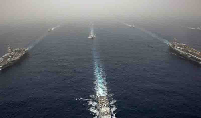 Ένταση μεταξύ ΗΠΑ – Κίνας: Αμερικανικό πλοίο έπλευσε σε περιοχή που διεκδικεί το Πεκίνο