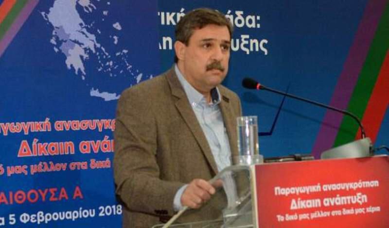Επίθεση σε προεκλογική εκδήλωση! Παρόντες Σαμαράς, Κεφαλογγιάνη και Μηταράκης!