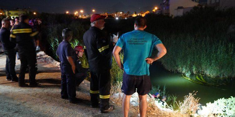 Κρήτη: Αυτοκίνητο έπεσε στον ποταμό Γιόφυρο