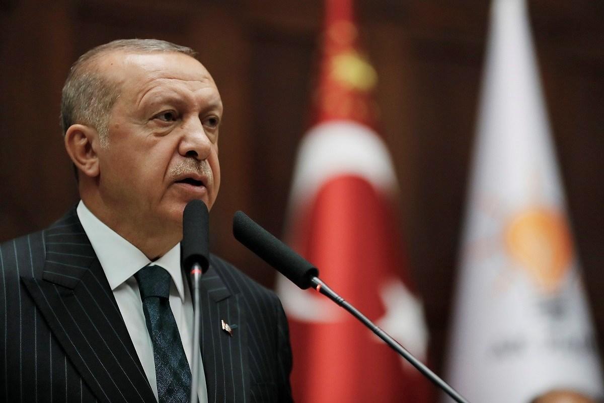 «Καρφί» Ερντογάν στις ΗΠΑ για την ανατολική Μεσόγειο – «Τι δικαιώματα έχουν εκεί;»