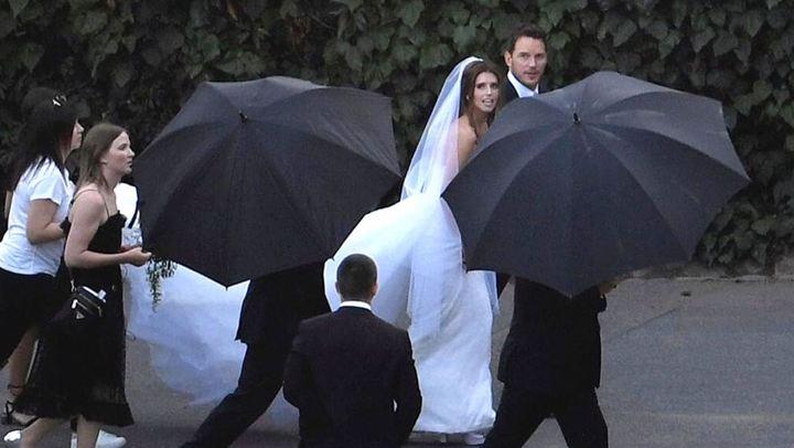 Ο Chris Pratt παντρεύτηκε την κόρη του Arnold Schwarzenegger κάτω από άκρα μυστικότητα