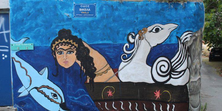 Δίνουν ζωή στους τοίχους – Τα νέα έργα τέχνης στο Λάκκο