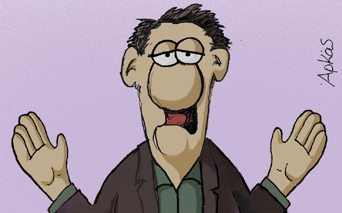 Πολύ σκληρό σκίτσο του Αρκά για τον Αλέξη Τσίπρα