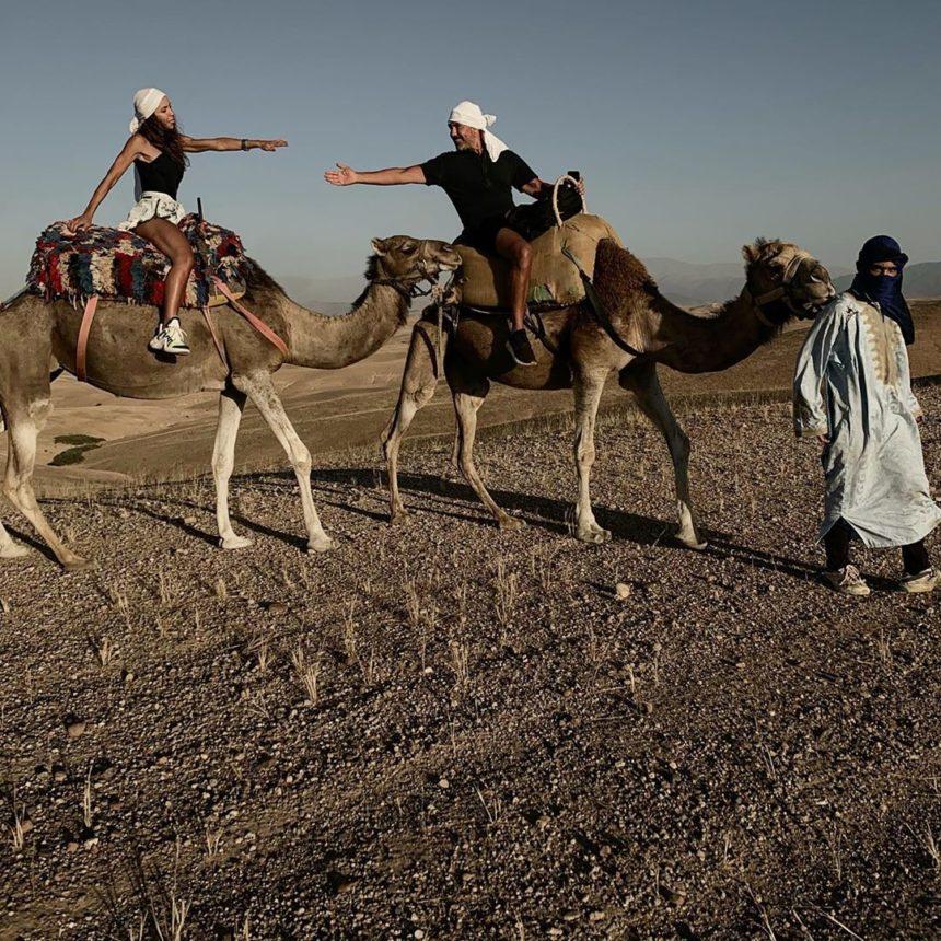 Ιωσήφ Μαρινάκης – Χρύσα Καλπάκη: Κάνουν διακοπές στην έρημο του Μαρακές! Εντυπωσιακές φωτογραφίες