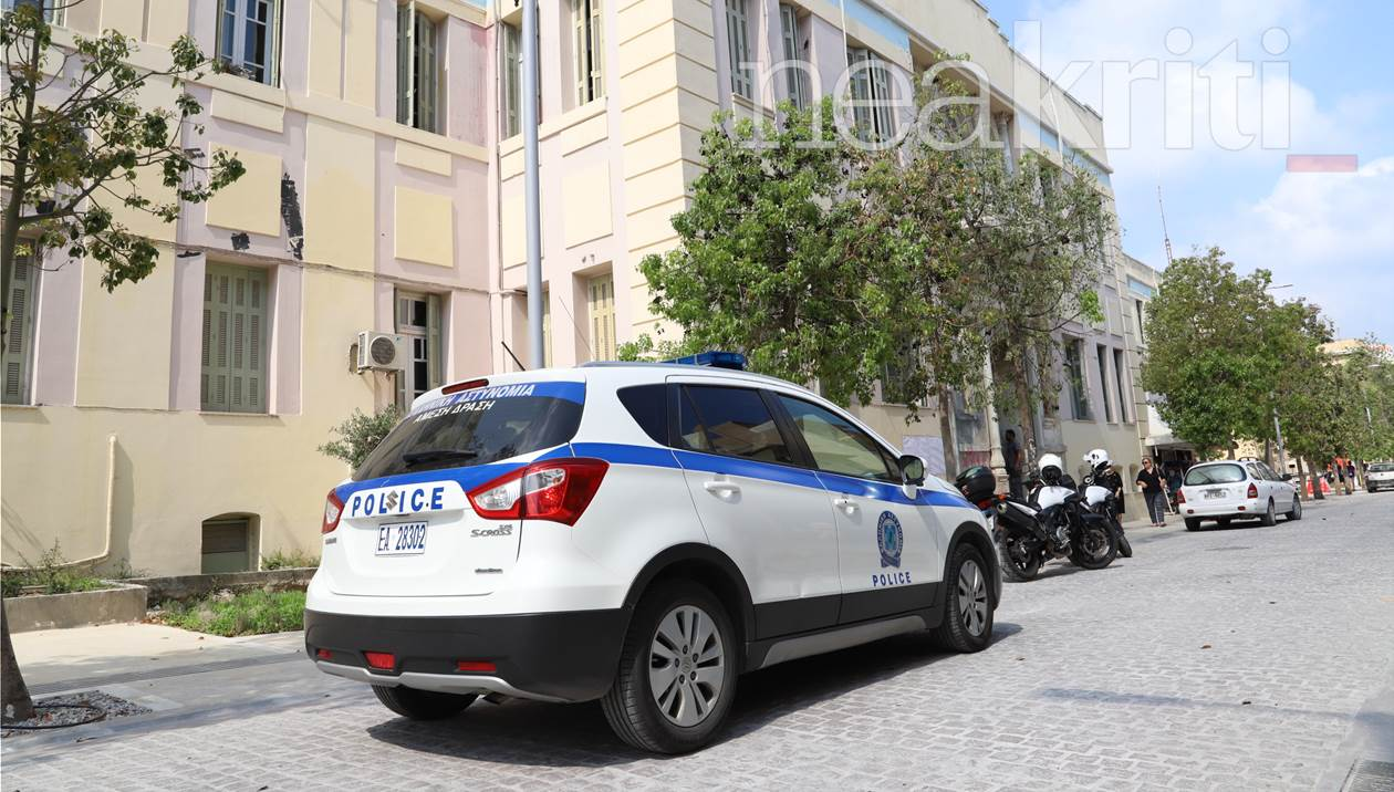 Δικαστήρια Ηρακλείου: Διακόπηκε η επανακαταμέτρηση λόγω… βόμβας