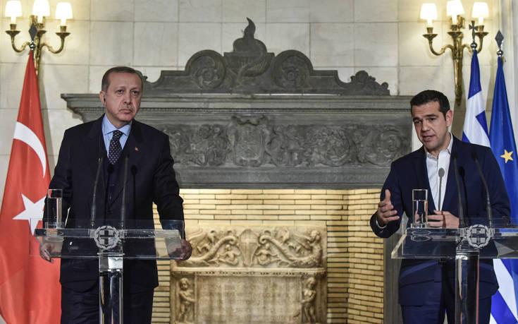 Ερντογάν κατά Τσίπρα: Μιλάει μόνος του, εμείς θα κάνουμε γεωτρήσεις