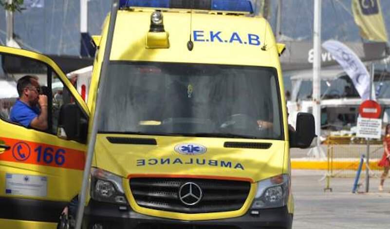 Δύο βαριά τραυματίες μετά από τροχαίο στα Χανιά
