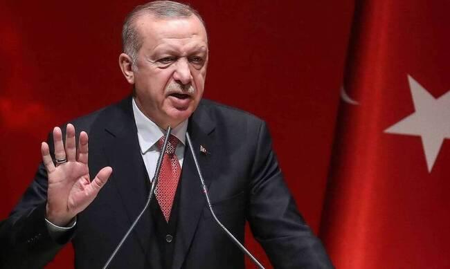 Ερντογάν για τις γεωτρήσεις: «Θα μας συλλάβετε; Θα γλείφετε μόνο την παλάμη σας»
