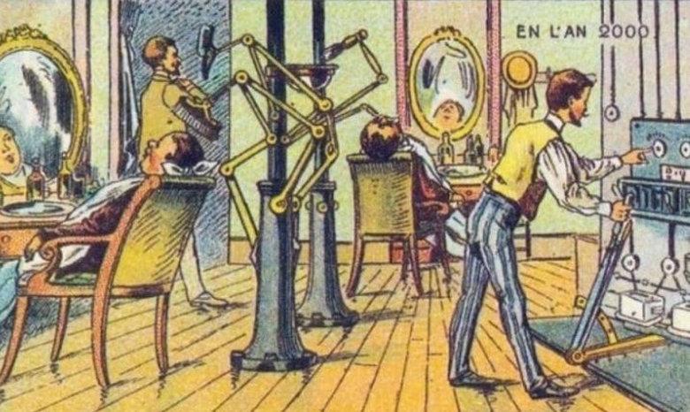 Πριν από 100 χρόνια τους ζήτησαν να ζωγραφίσουν τον κόσμο του 2000 – Αυτά ήταν τα αποτελέσματα