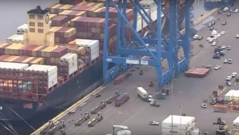 ΗΠΑ: Φορτίο «μαμούθ» 16,5 τόνων κοκαΐνης κατασχέθηκε στο λιμάνι της Φιλαδέλφεια [video]