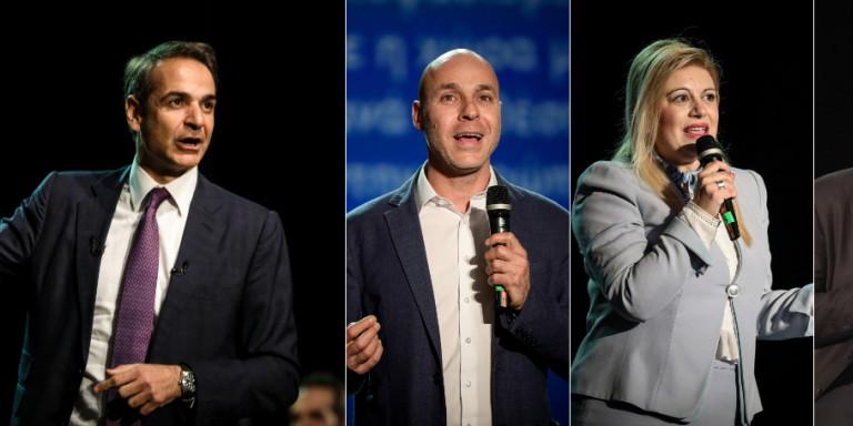 Τρεις υποψήφιοι ευρωβουλευτές στα ψηφοδέλτια της ΝΔ -Αμυράς, Καιρίδης, Αράχωβα