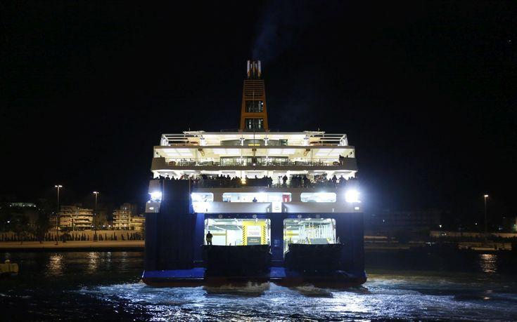 Το πλοίο απέπλευσε και μετά επέστρεψε στο Ηράκλειο