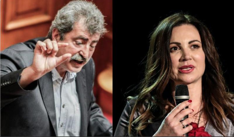 Ο Πολάκης βρίζει την Βίκυ Φλέσσα επειδή επιστρέφει στην ΕΡΤ