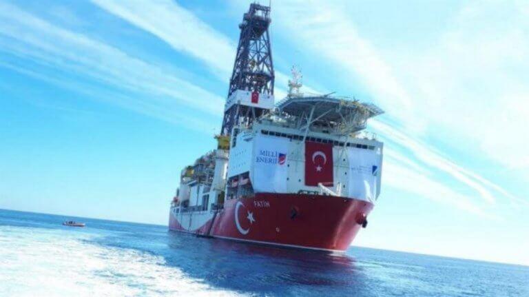 Ξεκίνησε το τουρκικό γεωτρύπανο Φατίχ γεωτρήσεις στην κυπριακή ΑΟΖ