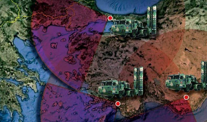«Κλείδωσαν» οι θέσεις των S-400: Σμύρνη και Χατάι – Αποκλείουν Αιγαίο-Α.Μεσόγειο και… Ισραήλ!