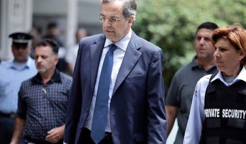 Σαμαράς: Παπαγγελόπουλος και Τσίπρας μαζί σχεδίασαν και εκτέλεσαν την άθλια υπόθεση Novartis