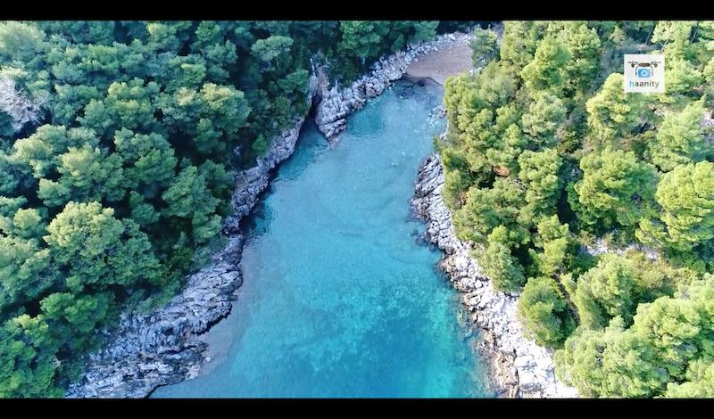 Βόρεια Εύβοια παραλία Σαρακήνικο (Βίντεο)
