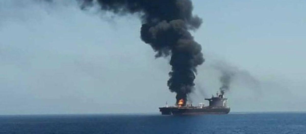 Bίντεο: Ιρανοί Φρουροί αφαιρούν μαγνητική νάρκη από ιαπωνικό δεξαμενόπλοιο στο Κόλπο του Ομάν