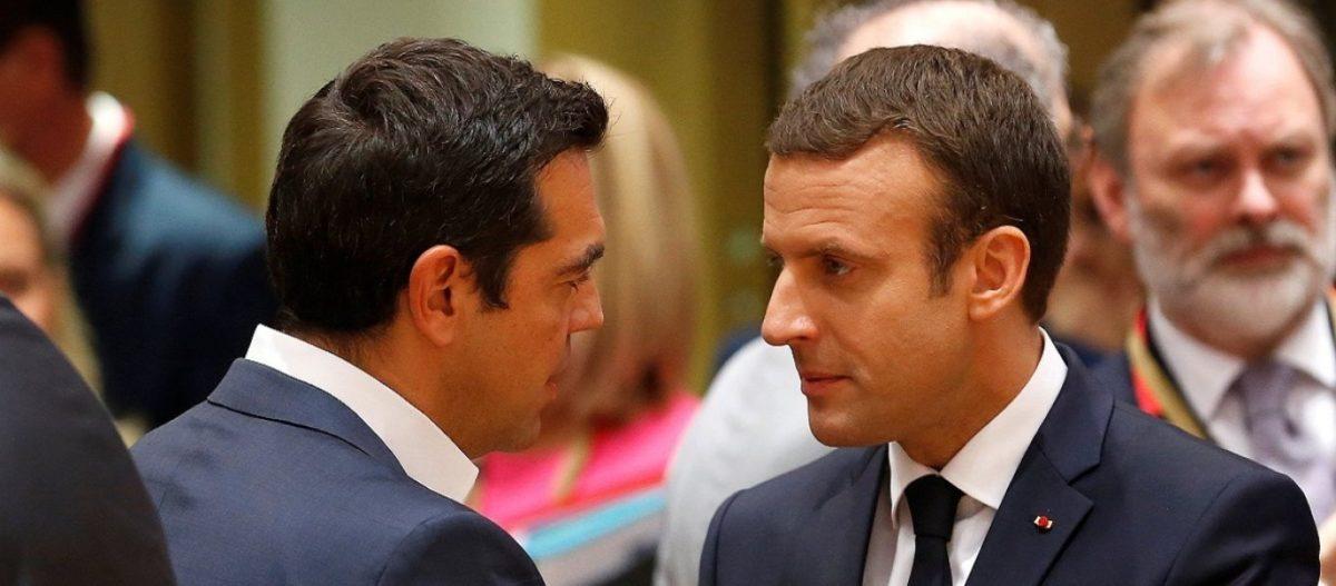 Ε.Μακρόν προς Α.Τσίπρα για Τουρκία: «Άμα θες Αλέξη στέλνω φρεγάτες στην Κύπρο» – Το εννοεί ο Γάλλος πρόεδρος;