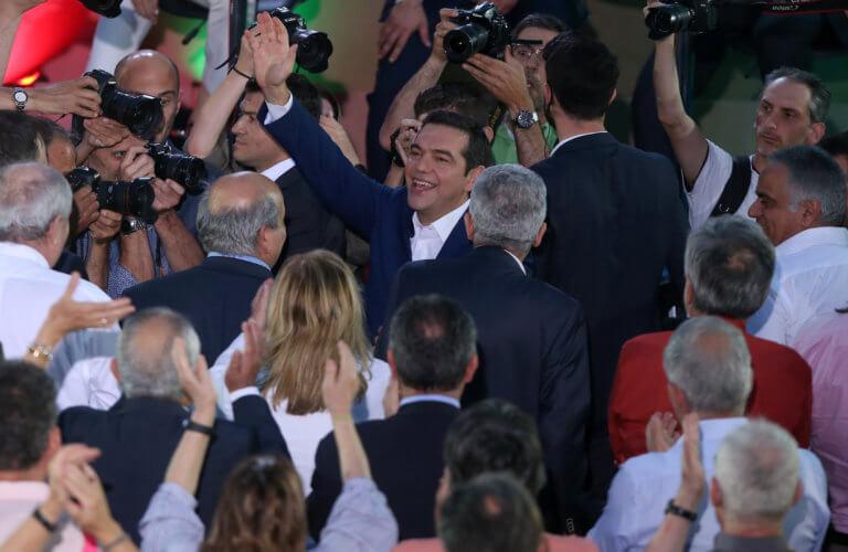 Εκλογές 2019: LIVE ο Αλέξης Τσίπρας από το Μέγαρο Μουσικής