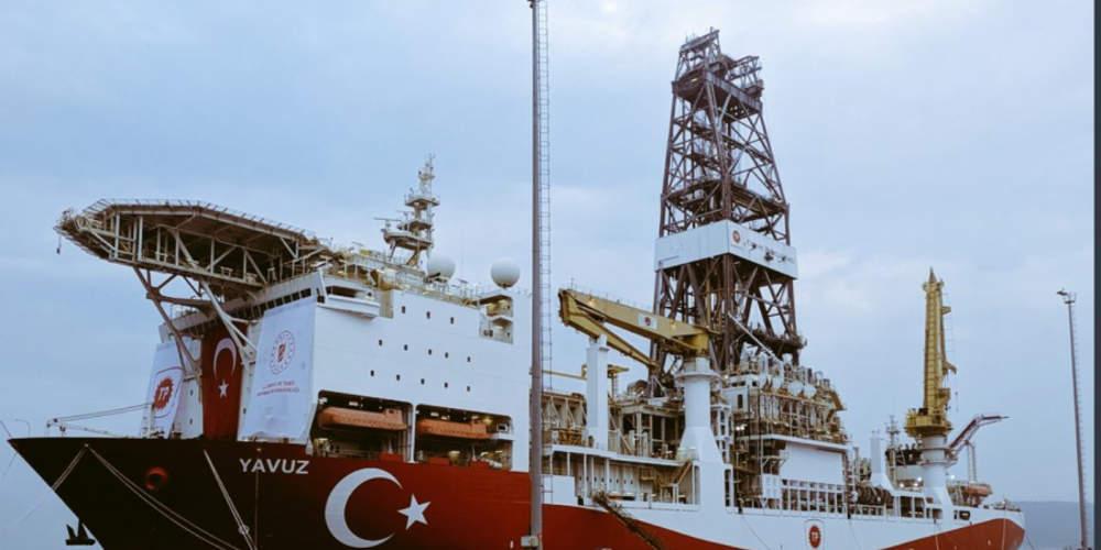 Ξεκίνησε το τουρκικό γεωτρύπανο Γιαβούζ: Θα επιχειρήσει στη βορειοδυτική Κύπρο [βίντεο]