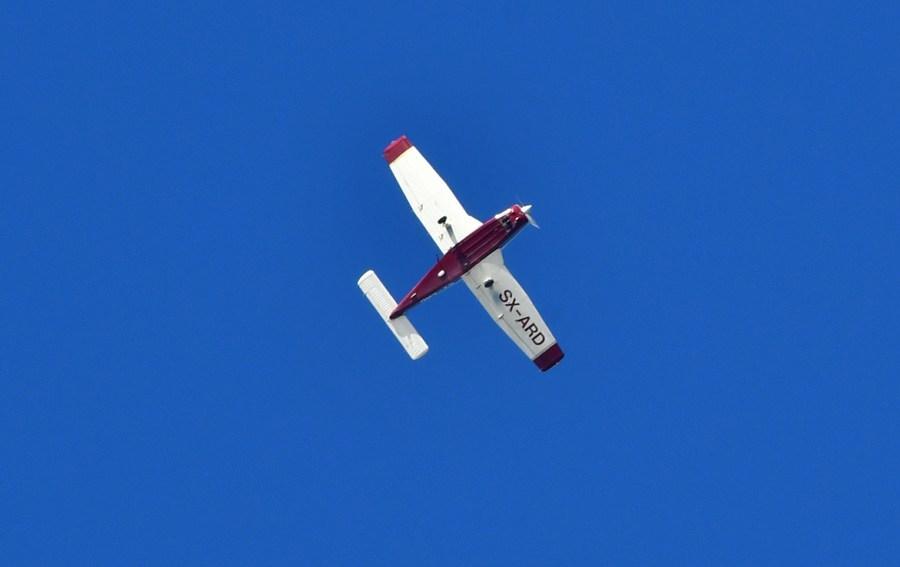 Αναγκαστική προσγείωση για μονοκινητήριο αεροπλάνο στην Εγνατία – Ένας τραυματίας